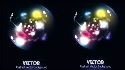 Link toGorgeous dynamic starlight background vector - 03