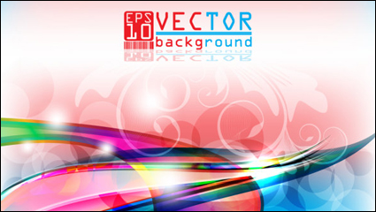 Link toGorgeous three-dimensional background 05 - vector material