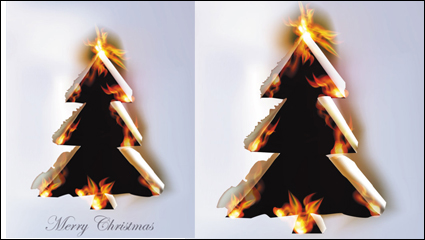 Link toFlame burning paper effect 01 - vector material