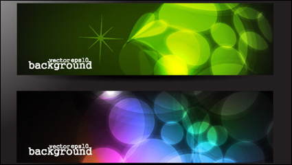 Link toThe gorgeous strip card 03 - vector material
