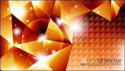 Link toBright trend halo background 02 - vector material