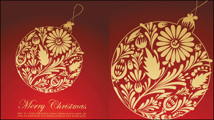 Link toFestive gift material 01 - vector material