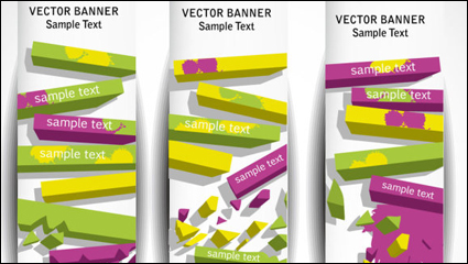 Link toGorgeous long bar background 05 - vector material
