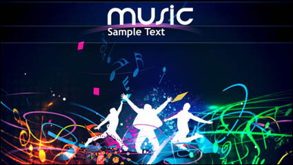 Link toGorgeous dynamic background 05 - vector