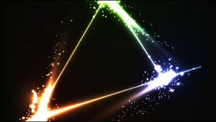 Link toBright stars background 02 - vector material