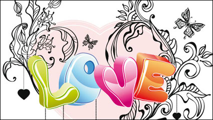 Link toCute valentine 02 - vector material