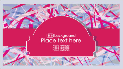 Link toBrilliant fashion label background 02 - vector material