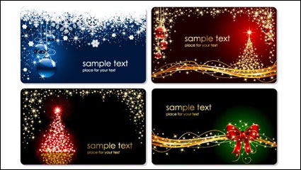 Link toGorgeous christmas tree vector material
