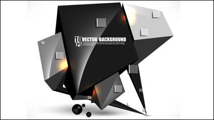 Link toBrilliant sense of technology background 03 - vector material