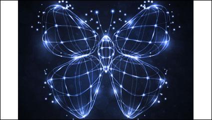 Link toBunte schmetterlings-02 - vektor material