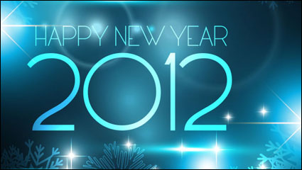 Link to2012 starry background 01 - vector material