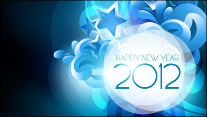 Link to2012 starry background 04 - vector material