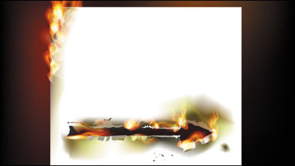 Link toFlame burning paper effect 02 - vector material