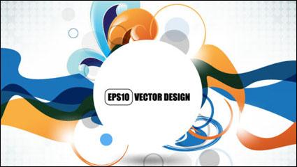 Link toTrend pattern - vector