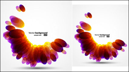 Link toColorful background 02 - vector material