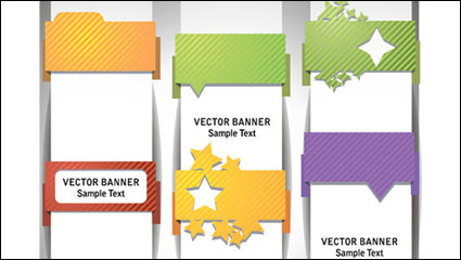 Link toWrap angle banner 01 - vector material