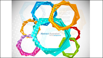 Link toFashion circle 04 - vector material