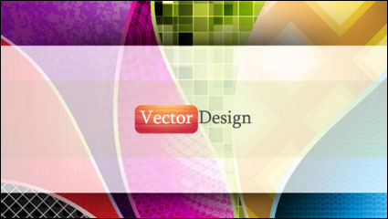 Link toDynamic flow line background 01 - vector material