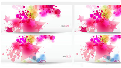 Link toDynamic trend of the banner 04 - vector material