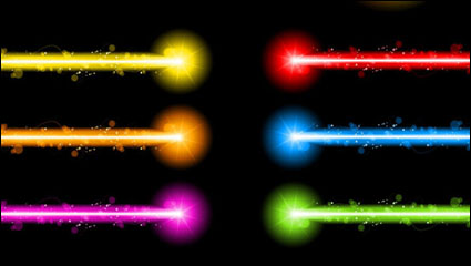 Link toGorgeous neon special effects 01 - vector material