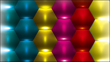 Link toBrilliant three-dimensional background 03 - vector material