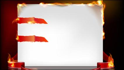 Link toFlame burning paper effect 03 - vector material