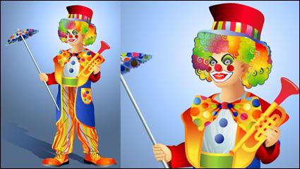 Link toThe clown illustrator 03 - vector