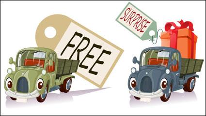 Link toCartoon toy car 03 - vector