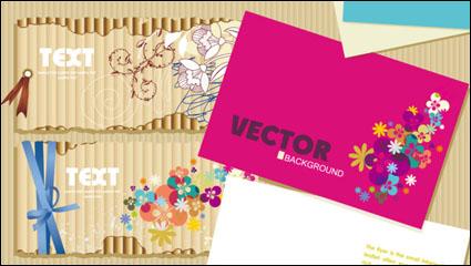 Link toBeautiful cards material 01 - vector material