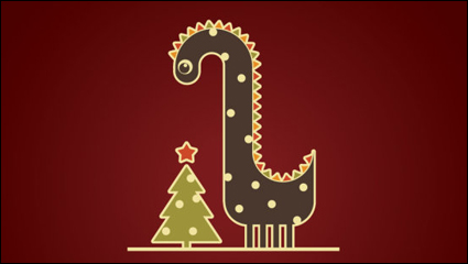 Link to2012 dragon image illustration 04 - vector