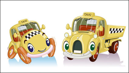 Cartoon toy car 02 - vector
