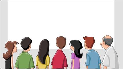 Link toCartoon character 01 - vector
