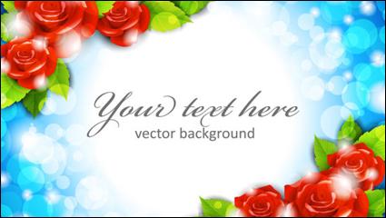 Link toRoses border 02 - vector material