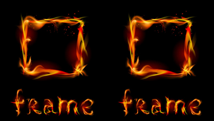 Link toFlame effect 02 - vector material