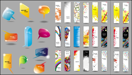 Link toColorful banner 02 - vector material