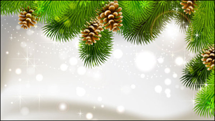 Link toThe exquisite christmas ball background 02 - vector material