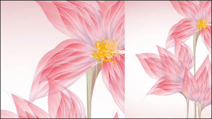 Exquisite flowers 02 – vector
