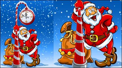 Link toCartoon santa claus vector material - 01