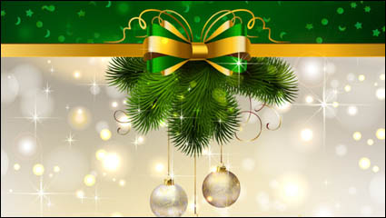 Link toChristmas decoration background 04 - vector material