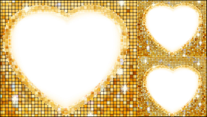 Link toHeart-shaped border 03 - vector material