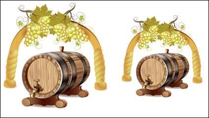 Link toCartoon wine 01 - vector material
