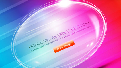 Gorgeous bubble 02 – vector material