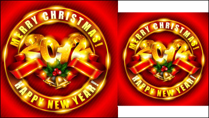 Link toBrilliant new year background 03 - vector material