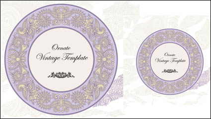 Link toClassic label pattern 05 - vector material