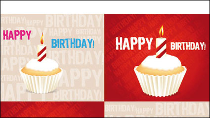 Link toBirthday cake 04 - vector material