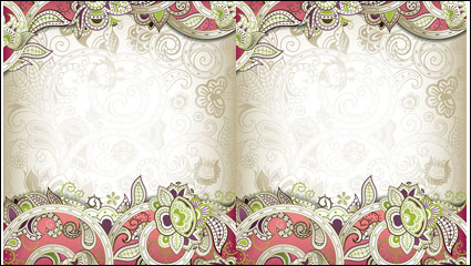 Link toThe gorgeous classical pattern vector material -3