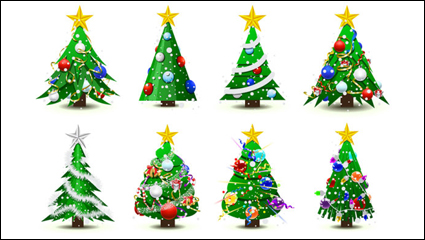 Link toGorgeous christmas tree - vector material