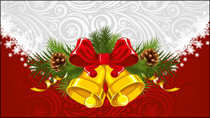 Link toChristmas background 01 - vector material