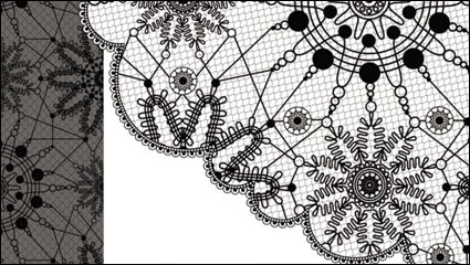 Link toBlack and white patterns 03 - vector material
