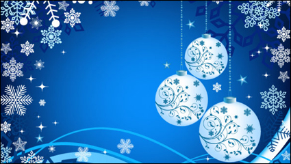 Link toBeautiful christmas ball background 04 - vector material